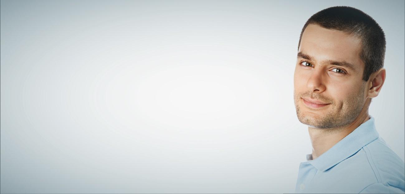 tratamento-calvicie-homem-sorriso