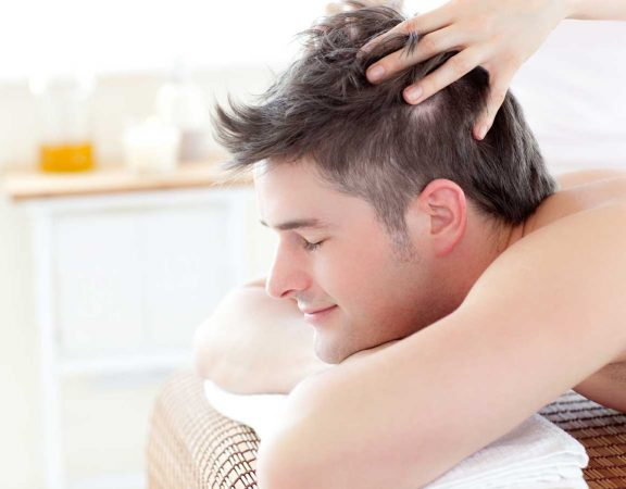 couro cabeludo saudável